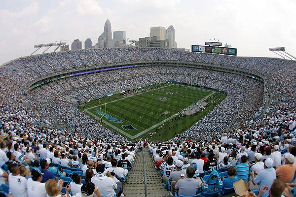 Bank of America Stadium de Charlotte