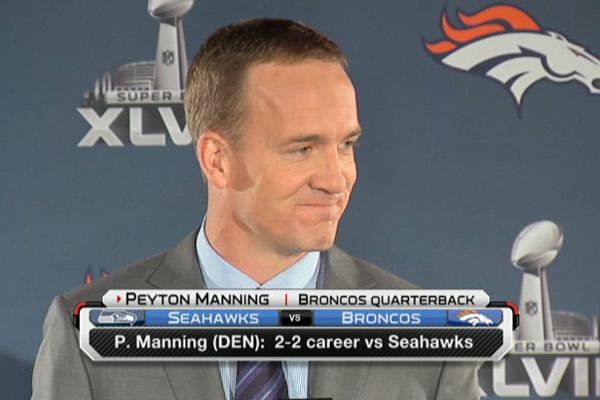 Peyton Manning est serein avant le Super Bowl
