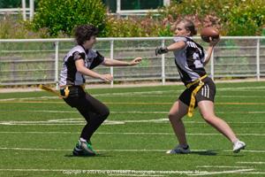 Essai au poste de Quarterback