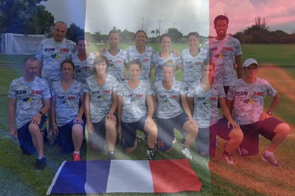 L'équipe de France féminine de Flag 2016
