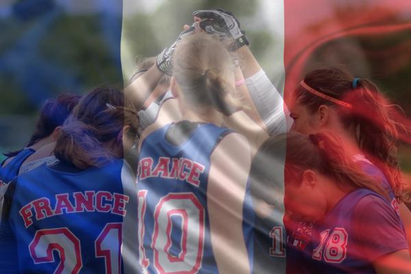 La sélection française féminine de Flag