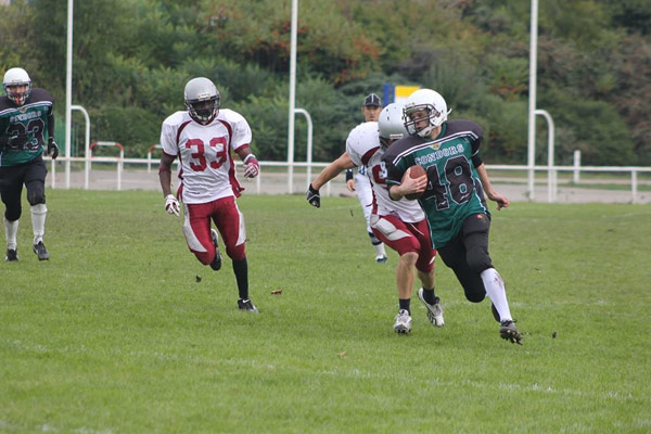 Archive du match Condors vs Falcons du 29/09/2012