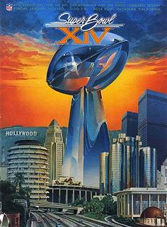Le programme du Super Bowl XIV