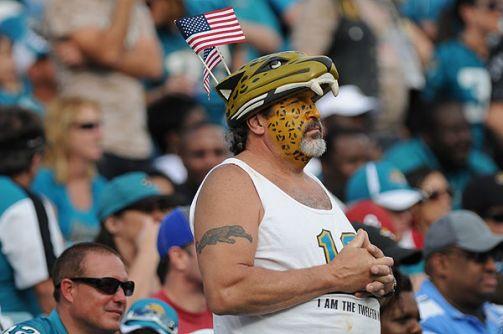 Un fan des Jaguars