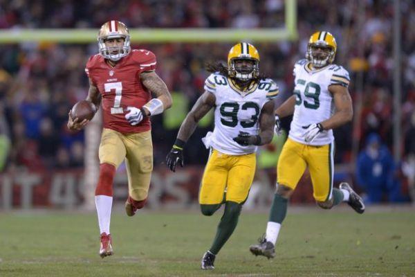 Kaepernick en playoffs l'an dernier, un cauchemar pour les Packers