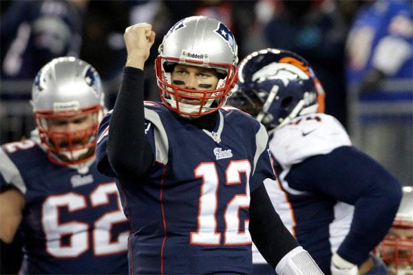 Tom Brady gagne son 10ème duel contre Manning