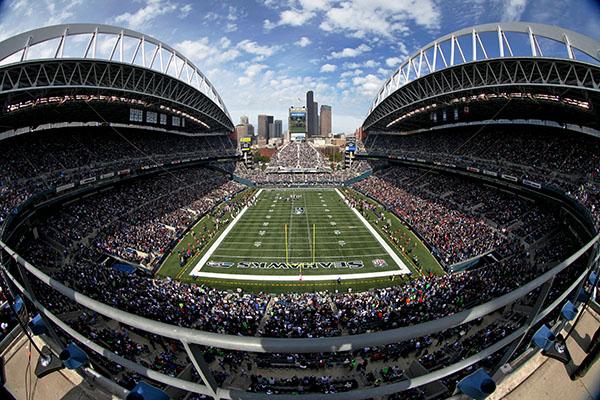 Le CenturyLink Field antre imprenable des Seahawks