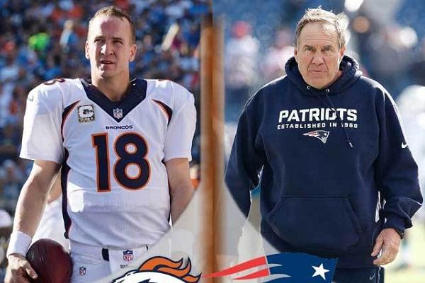 Manning vs Belichick