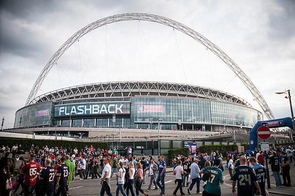 Wembley encore aux couleurs de la NFL