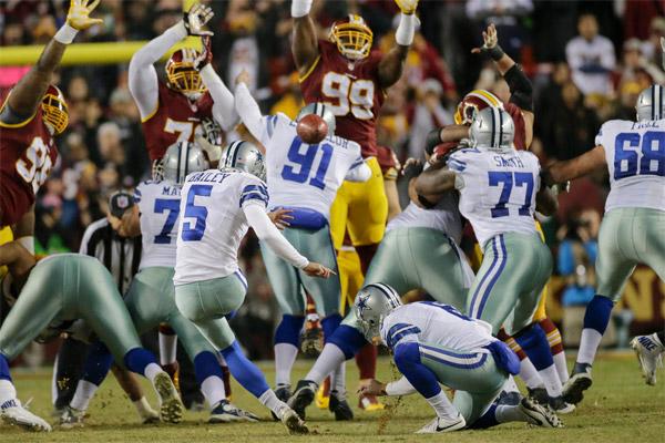 Dan Bailey donne la victoire aux Cowboys sur un field goal de 54 yards