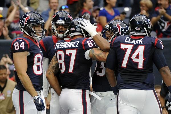 Les Texans confortent leur première place de l'AFC Sud
