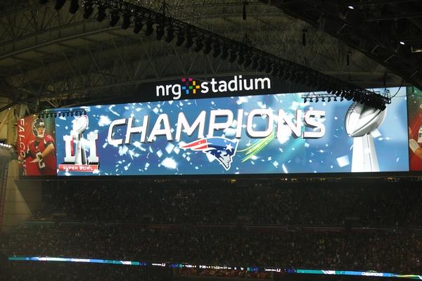 Patriots Superbowl LI Champions