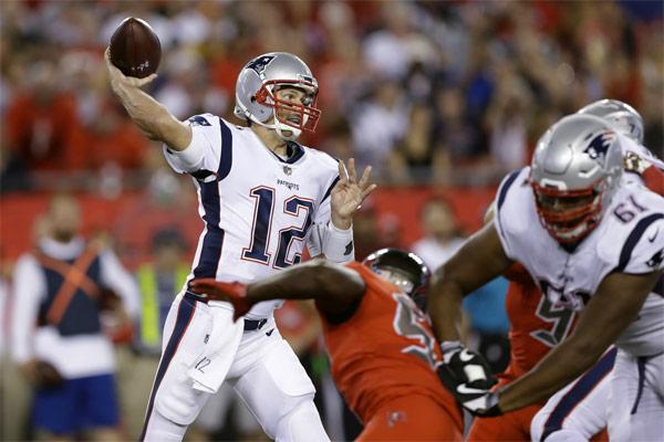 Tom Brady a gagné hier soir son 186e match en saison régulière !