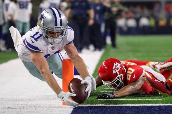 Beasley, l'un des hommes providentiels pour Dallas avec deux touchdowns