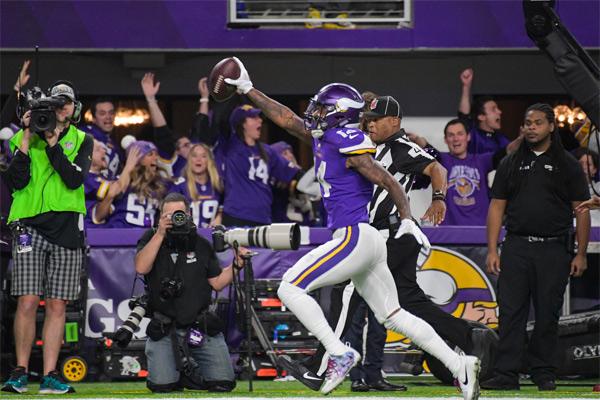 Stefon Diggs délivre les Vikings (TD 61 yards)