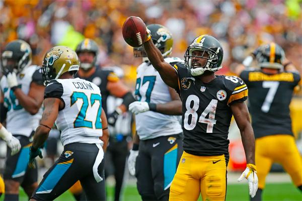 Antonio Brown pourrait montrer la voie aux Steelers