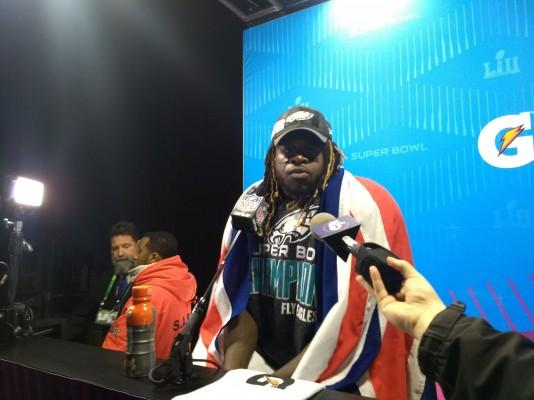 Jay Ajayi, le londonien, peut savourer son premier titre de champion