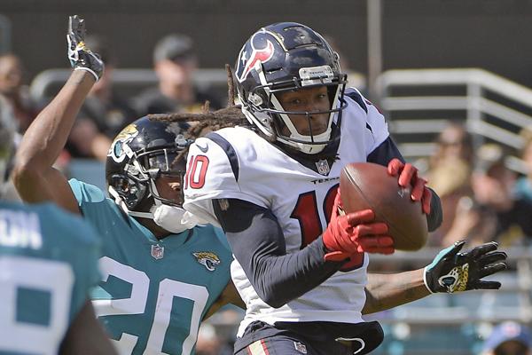 Encore un touchdown pour Hopkins