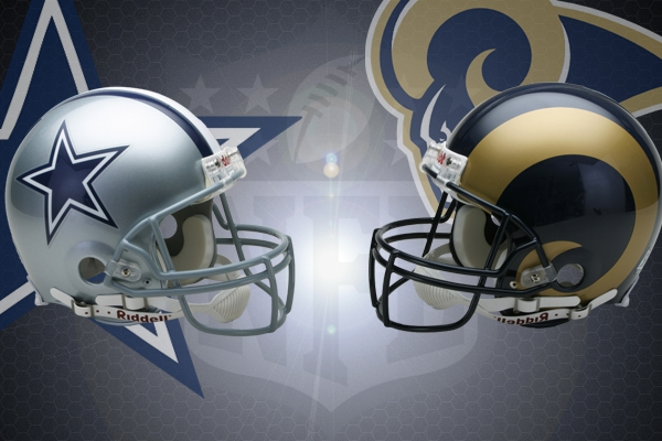 NFL, Week 4 2007 : Dallas Cowboys vs Los Angeles Rams ...