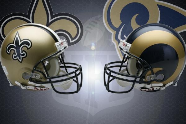 Nfl Week 12 2016 New Orleans Saints Vs Los Angeles Rams