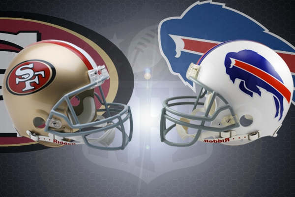 NFL, Week 12 2001 : San Francisco 49ers vs Buffalo Bills ...Raiders Vs Falcons