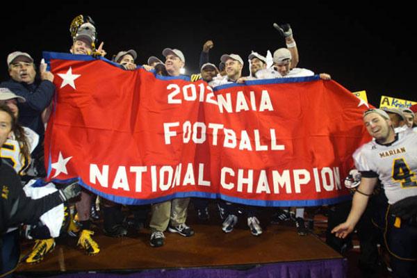 Champions NAIA en 2012