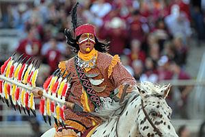 La charge du chef Seminole
