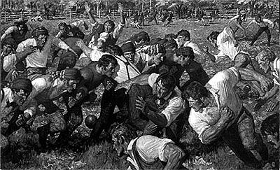 Rutgers v Princetown en 1869