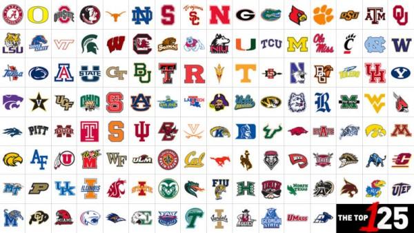 Logos NCAA