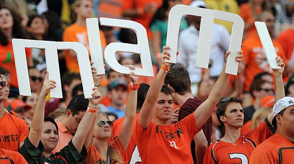 Miami v Boston College en 10 clichés
