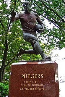 Rutgers le berceau du Football