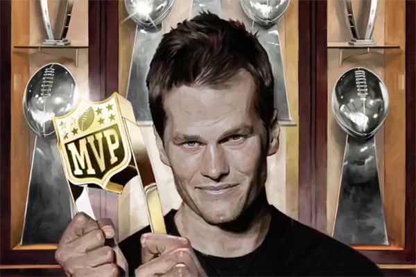 Tom Brady, 40 ans et 6 mois, décroche son 3e MVP