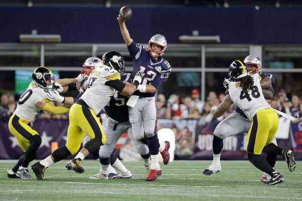 Brady toujours invaincu à domicile face aux Steelers