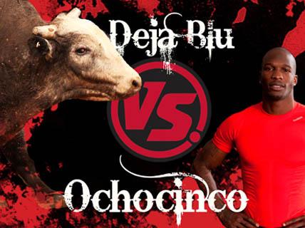 Deja Blu et Chad Ochocinco