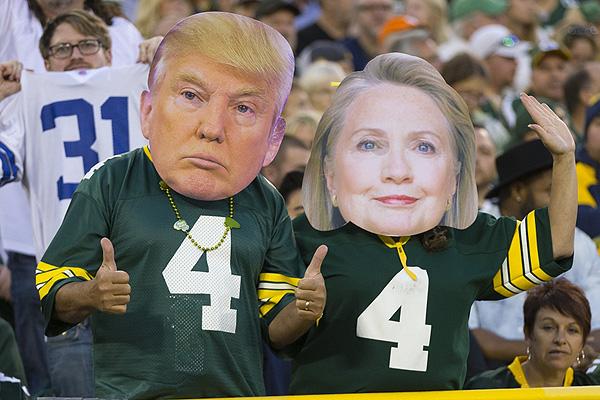 Donald et Hilary