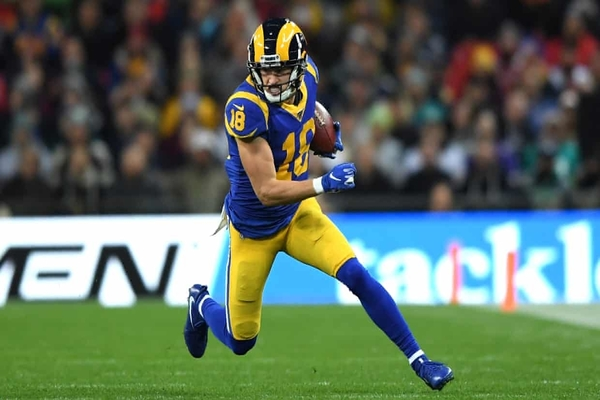 Kupp réalise un match monstre (7 rec, 220 yards, 1 TD)