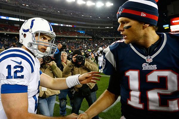 Luck face à Brady