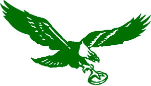 Le logo des Eagles de 1948 à 1968
