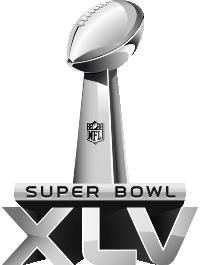 Logo du Super Bowl 45
