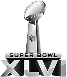 Logo du Super Bowl 46
