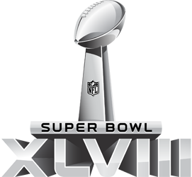 Logo du Super Bowl 48