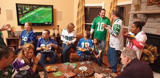 Le rituel du Super Bowl entre amis
