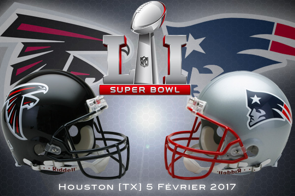 Super Bowl LI : Atlanta Falcons vs New England Patriots