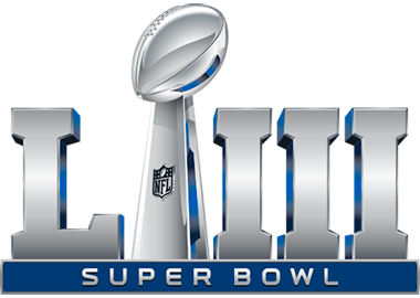 Logo du Super Bowl 53