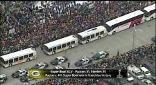 Les Packers de retour à Green Bay