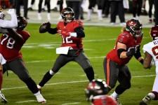 Tom Brady à la manoeuvre contre Washington